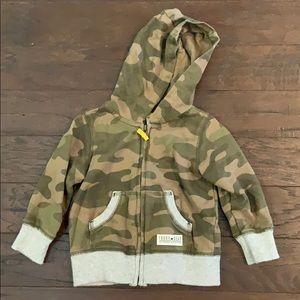 3 items/ $15 - Camo Zip Up Hoodie